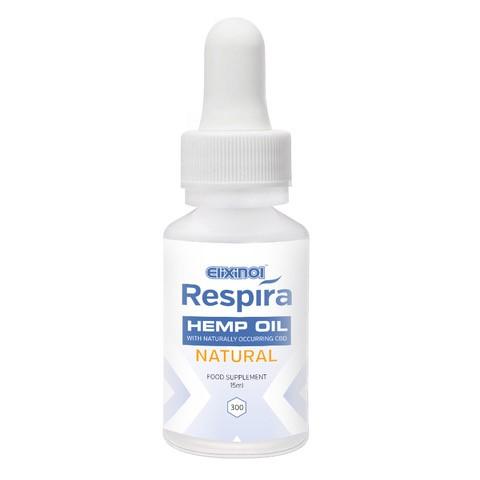 Respira Hemp Oil 300mg Natural Flavour CBD Oil