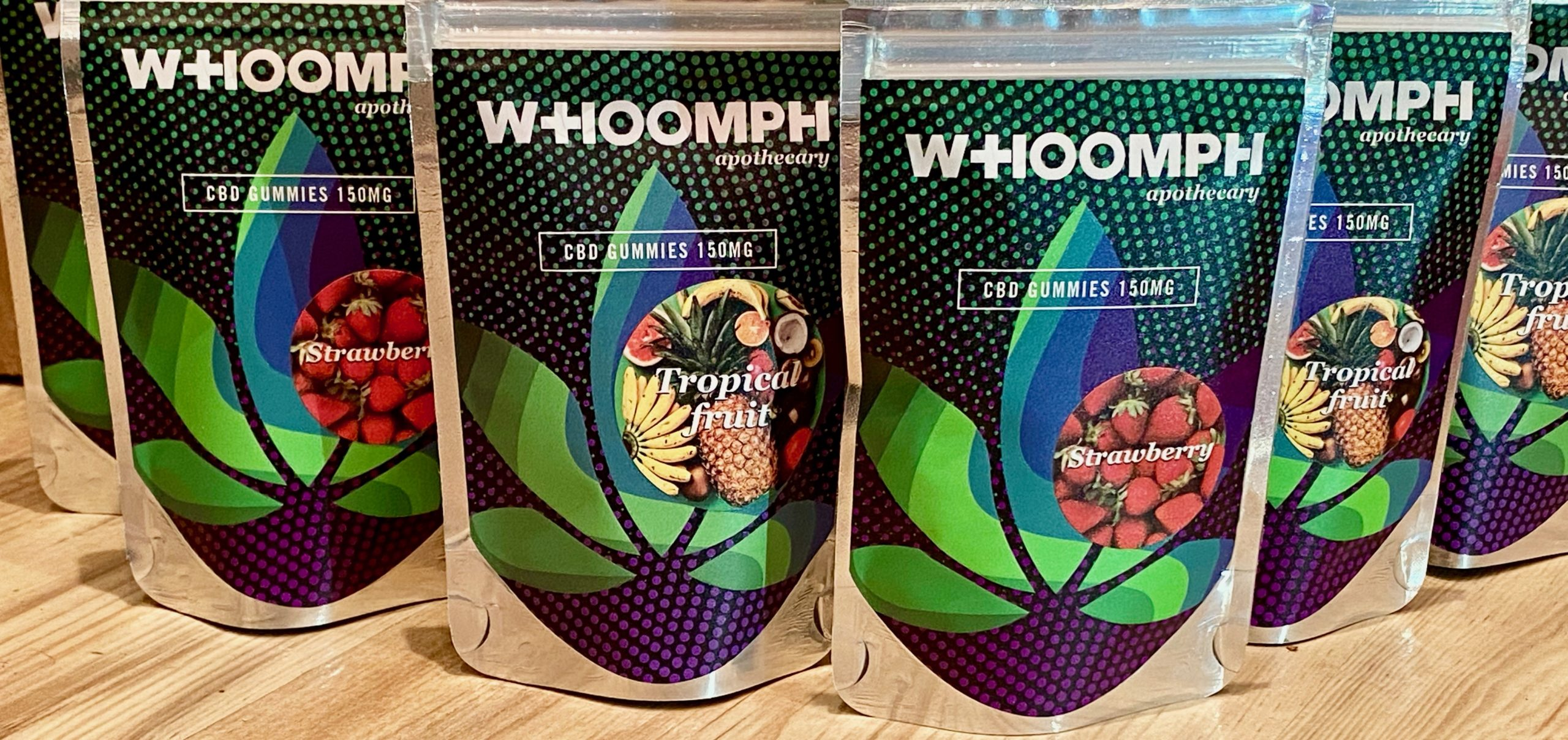 Whoomph 150mg Full Spectrum Gummies